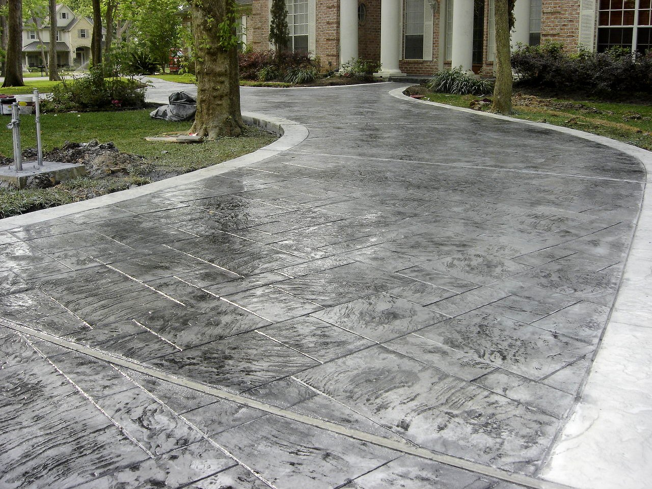 ASW Decorative Concrete Driveways Will Improve A Home's Curb Appeal1