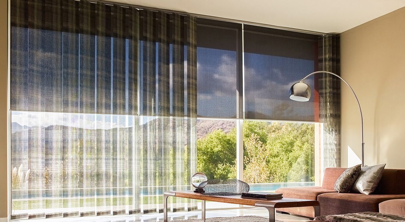 Difference between sheer horizontal and vertical blinds