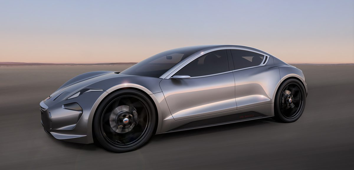 performance car, partially electric