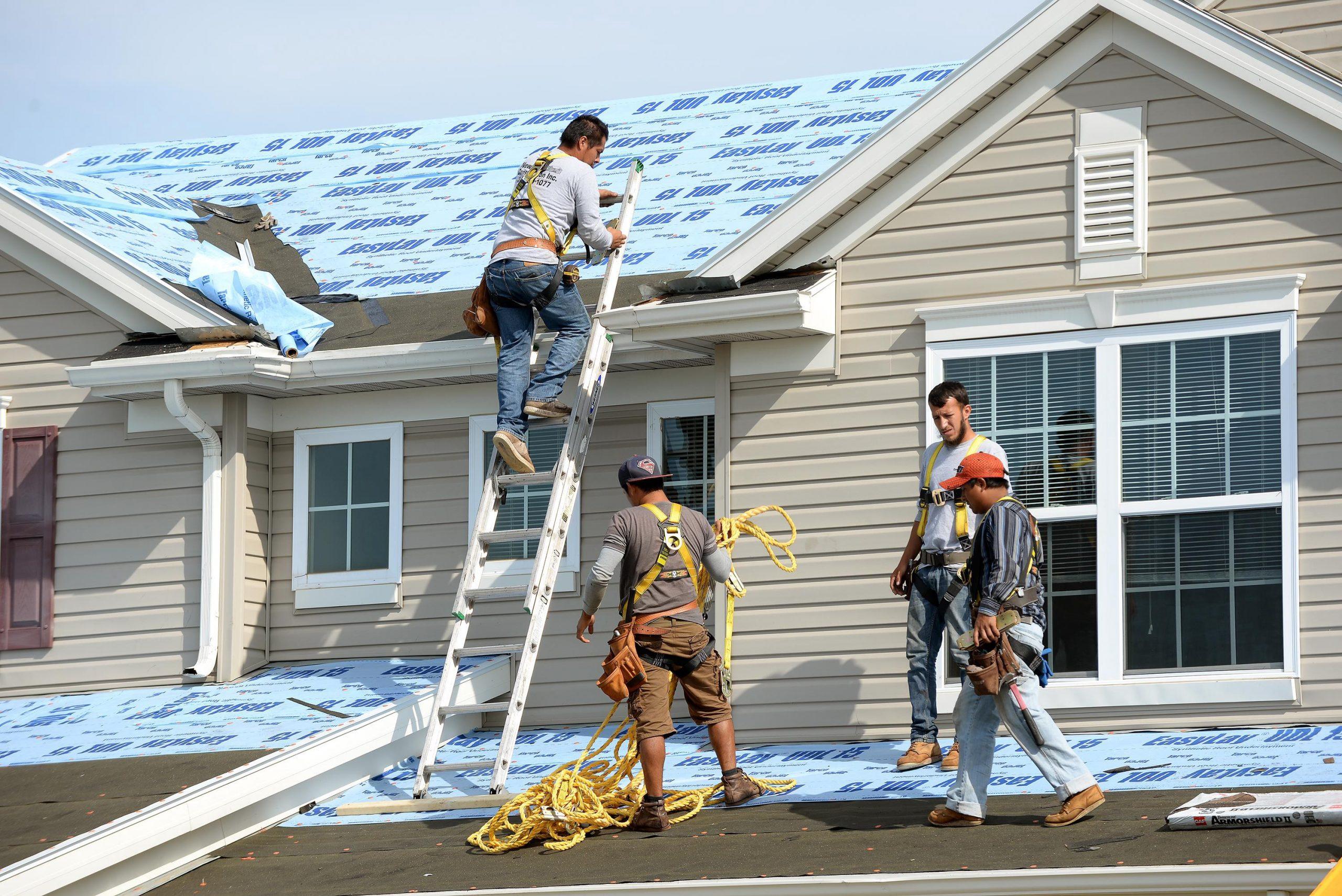 Roofers aren't really slamming