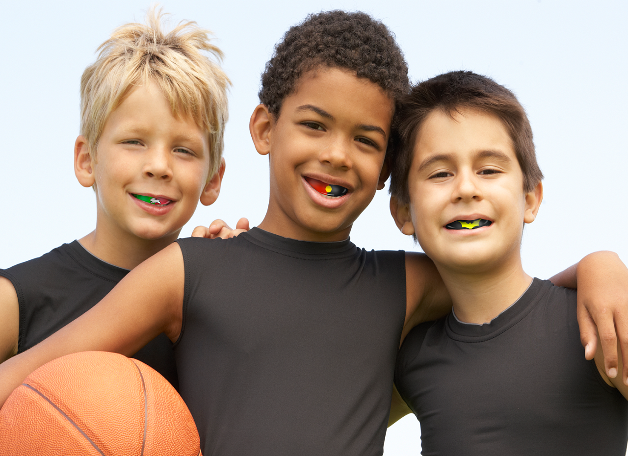 Which sports should kids wear mouthguards