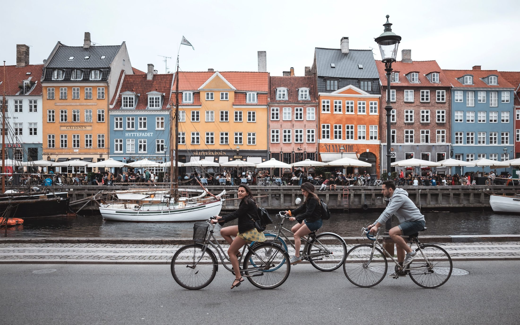 People Like to Live in Denmark
