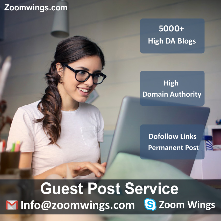 Guest Post Service - Zoom Wings